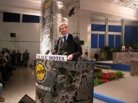 Pierferdinando Casini (presidente della Camera dei Deputati) alla tribuna della Convenzione dei Radicali all'hotel Ergife.