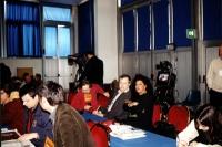 Convenzione dei Radicali. Al centro della foto: Paolo Pietrosanti e Paola Caravaggi.