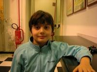 Lorenzo Dentamaro (figlio di Gaetano e Antonella Spolaor).
