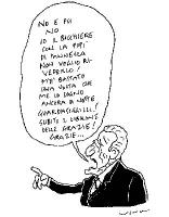 """VIGNETTA. Il presidente Ciampi: """"No e poi no. Io il bicchiere con la pipì di Pannella non voglio rivederlo! M'è bastato una volta che me lo sogno anco"""