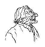 """VIGNETTA Caricatura di Marco Pannella, eseguita da Vincino per """"Il Foglio""""."""