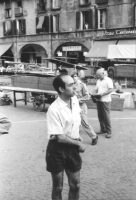 3a marcia antimilitarista Milano-Vicenza. Pietro Pinna.