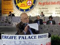 6° Congresso italiano del PR. Alla tribuna: Sergio Stanzani.