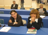 6° Congresso italiano del PR. Angelica Russomanno e Marina Sikora.