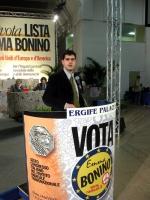 6° Congresso italiano del PR. Alla tribuna: Daniele Capezzone.