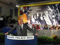 Celebrazione del trentennale della vittoria del referendum sul divorzio. Alla tribuna: Gianfranco Spadaccia.