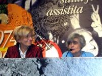 6° Congresso del PR. Emma Bonino e Adele Cambria nel corso della celebrazione del trentennale della vittoria del referendum sul divorzio.