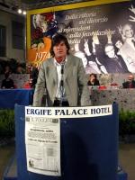 6° Congresso del PR. Il nipote di Loris Fortuna ???, interviene alla celebrazione del trentennale della vittoria del referendum sul divorzio.
