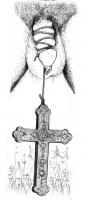 """VIGNETTA """"Sesso e Chiesa"""". Disegno di Pino Zac (senza indicazione di data)."""