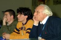 6° Congresso del PR. Da destra: Marco Pannella, Matteo Angioli, Marco Valerio Lo Prete.