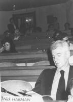 Congresso di fondazione della LIA (Lega Internazionale Antiproibizionista) nell'auletta deei gruppi parlamentari a Roma. Nick Harman  (BN)