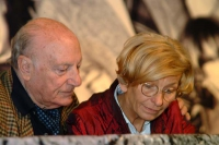 6° Congresso italiano del PR. Raffaele La Capria ed Emma Bonino.