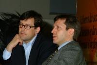 Bruno Mellano e Benedetto Della Vedova (nel corso del 6° Congresso italiano del PR).