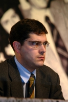 Daniele Capezzone (in occasione del 6° Congresso del PR). Altre digitali.