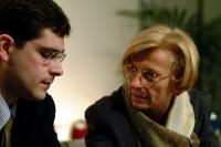 Daniele Capezzone ed Emma Bonino al 6° Congresso italiano del PR.