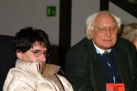 Luca Coscioni e Marco Pannella, al 6° Congresso italiano del PR.
