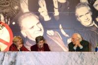 Emma Bonino, Miriam Mafai e Marco Pannella, in occasione della celebrazione del trentennale della vittoria del referendum sul divorzio. Altre digitali