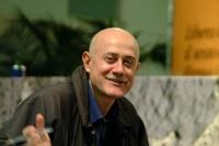 Sergio D'Elia al 6° Congresso italiano del PR. Altri ritratti digitali dello stesso, nella stessa occasione.