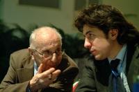 Sergio Stanzani e Marco Cappato (in occasione del 6° Congresso italiano del PR).