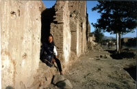 Emma Bonino, in missione in Afghanistan in qualità di commissario euroopeo.  (Verificare data)