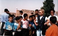 Emma Bonino, in missione in Iraq in qualità di commissario europeo.