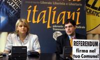 Conferenza stampa alla sede di Torre Argentina di Rita Bernardini e Daniele Capezzone (all'ottavo giorno di sciopero della fame, per il diritto all'in