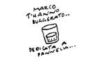 """VIGNETTA """"Marco Pannella...t'hanno buggerato"""". Vignetta di Vincino, pubblicata sul quotidiano il Foglio (in occasione della notizia del parere negativ"""