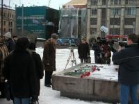 """Manifestazione: """"Accendi una candela per la pace, la libertà, la democrazia in Cecenia"""", in occasione dell'anniversario della deportazione dei ceceni"""