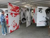 """Mostra fotografica di Oliviero Toscani: """"Proibito pensare. Le facce della repressione a Cuba""""."""