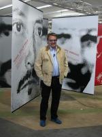 """Oliviero Toscani, in occasione dell'inaugurazione della sua mostra fotografica: """"Proibito pensare. Le facce della repressione a Cuba""""."""