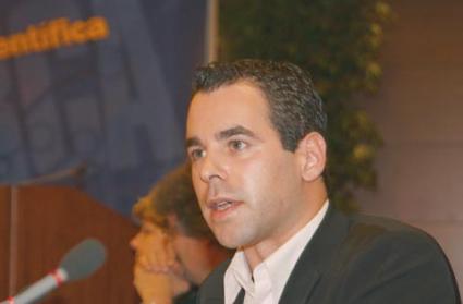 Alexander Alvaro, eurodeputato tedesco, interviene alla Sessione costitutiva del Congresso Mondiale per la Libertà di Ricerca Scientifica.