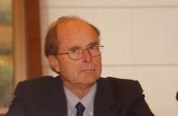 Baccio Baccetti - Ordinario di Biologia applicata all'Università di Siena, Socio nazionale dell'Accademia dei Lincei - alla Sessione Costitutiva del C