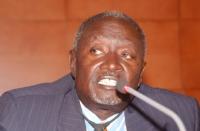 Joseph O. Malo (presidente dell'Accademia delle Scienze del Kenya) in occasione della Sessione Costitutiva del Congresso Mondiale per la Libertà di Ri