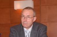 Alois Gratwhol (Ematologo, Ospedale universitario di Basilea) in occasione della Sessione Costitutiva del Congresso Mondiale per la Libertà di Ricerca