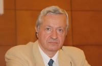 Ivan Ivanov - rappresentante dell'Accademia delle Scienze di Bulgaria - in occasione della Sessione Costitutiva del Congresso Mondiale per la Libertà