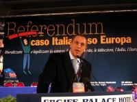 Maurizio Bolognetti alla tribuna del Terzo Congresso dei Radicali Italiani.