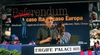 Silvio Viale alla tribuna del Terzo Congresso dei Radicali Italiani.