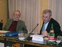 """Sergio Panunzio (Università di Roma, Luiss) e Stelio Mangiameli (Università di Torino) partecipano al convegno """"L'ammissibilità dei referendum sulla f"""