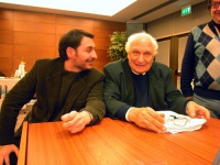 Pierpaolo Segneri e Marco Pannella, al Comitato dei Radicali Italiani.