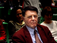 Evandro Agazzi (filosofo della scienza) al Terzo Congresso dell'Associazione Coscioni.