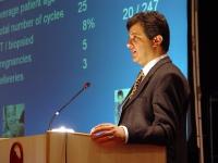 Ender Altiok (direttore del Genetic Diagnostic Center Acibadem, Turchia) al Terzo Congresso dell'Associazione Coscioni.