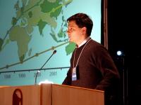 Dario Bressanini (ricercatore Università dell'Insubria) al Terzo Congresso dell'Associazione Luca Coscioni.