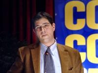 Daniele Capezzone, al Terzo Congresso dlel'Associazione Coscioni.