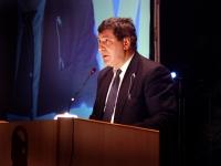 Enrico Coveri, presidente dell'associazione Exit, al Terzo Congresso dell'Associazione Coscioni.