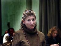 Sabrina Di Giulio (malata di sclerosi laterale amiotrofica) al Terzo Congresso dell'Associazione Coscioni.