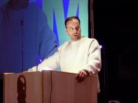 Eyal Mizrahi, delegato dell'Ambasciata israeliana, al Terzo Congresso dell'Associazione Coscioni.