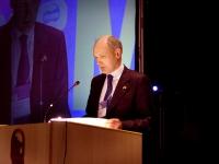 Richard Northern, console generale della Gran Bretagna a Milano, al Terzo Congresso dell'Associazione Luca Coscioni.