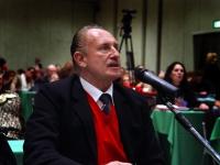 Antonio Pompei, professore all'Università di Genova, specialista in endocrinologia e diabete, al Terzo Congresso dell'Associazione Coscioni.