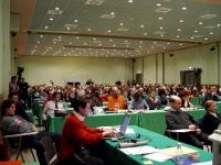 Terzo Congresso dell'Associazione Luca Coscioni. Vista della sala.