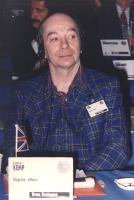 ritratto di Lindasy Kemp (UK) regista, attore, Mimo. Nelle altre, foto di Kemp